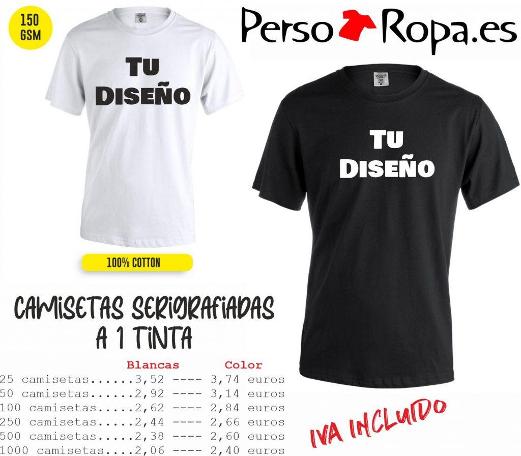 oferta camisetas serigrafiadas